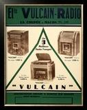Vulcain Radio Posters