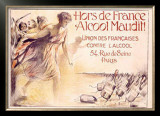 Alcool Maudit Framed Giclee Print by Chavannaz