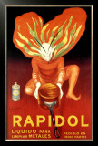 Rapidol Framed Giclee Print by Leonetto Cappiello