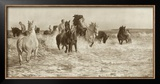 Horses Bathing Prints by Lucy Elizabeth Kemp-Welch