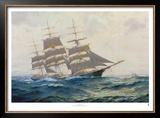 Toward Far Horizons, Ship Triumphant Poster by Frank Vining Smith