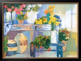 Potting Bench Prints by Mayte Parsons
