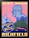 Richfield Advertising, c.1929 Framed Giclee Print