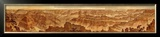 Grand Canyon: Composite Panorama from Point Sublime, c.1882 Framed Giclee Print by William Henry Holmes