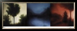 Sunset Forest II Limited Edition Framed Print by Deac Mong
