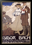 Isidor Bach Framed Giclee Print by Witzel 