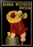 Birra Wuhrer Framed Giclee Print by Leonetto Cappiello