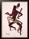 Bal Negre Framed Giclee Print by Paul Colin