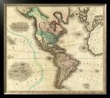 America, c.1823 Framed Giclee Print by Henry S. Tanner