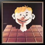 Chocolat Posters by Raymond Savignac