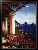 Pergola in Capri Posters by Elizabeth Wright