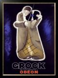 Grock Framed Giclee Print