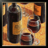 Wine Tasting I Art by Karen Emory