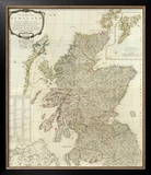 Composite: Scotland or North Britain, c.1790 Framed Giclee Print by Robert Campbell