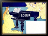 Bechstein Framed Giclee Print