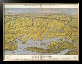 Virginia, Maryland Delaware and The District of Columbia, c.1861 Framed Giclee Print by John Bachmann