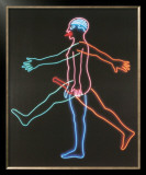 Marching Man, c.1985 Poster by Bruce Nauman