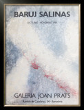 Galeria Joan Prats 1981 Limited Edition Framed Print by Baruj Salinas