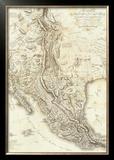 Composite: Nouvelle Espagne, c.1809 Framed Giclee Print by Alexander Von Humboldt