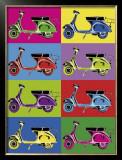 Vesparama Posters by Myrjam Tell