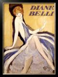 Diane Belli Framed Giclee Print by Jean-Gabriel Domergue