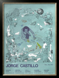 5 Galleries 1978 Limited Edition Framed Print by Jorge Castillo