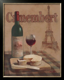 Camembert, Tour Eiffel Prints by T. C. Chiu