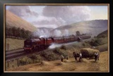 L.M.S. the Royal Scot, Tebay Troughs, 1935 Prints by Gerald Broom