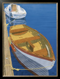 Two Dinghy&#39;s Art by Greg Snead