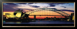 Opera House and Harbor Bridge, Sydney Prints by Marc Segal
