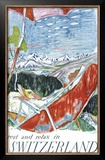 Switzerland Framed Giclee Print by Carigiet Alois