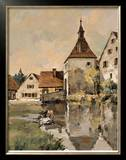 Village in Germany I Limited Edition Framed Print by Robert Schaar