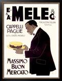 E&A Mele, Massimo Buon Mercato Framed Giclee Print