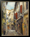Old Town I Poster by Marilyn Hageman