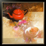 Still Life with Red Teapot Prints by Spartaco Lombardo