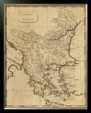 Turkey in Europe, c.1812 Framed Giclee Print by Aaron Arrowsmith