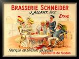 Brasserie Schneider Poster by  Quendray