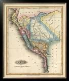 Peru, c.1823 Framed Giclee Print by Fielding Lucas