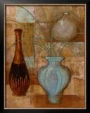 Persian Pot II Poster by John Kime