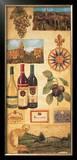 Wine Country I Print by Elizabeth Jardine