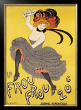 Le Frou-Frou Framed Giclee Print by Leonetto Cappiello