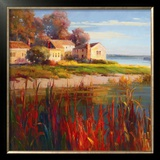 Harbor Home I Prints by E.b. Kentworth