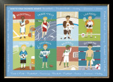 What&#39;s Your Favorite Sport Posters by Catrina Genovese