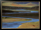 Les Steppes de Mongolie Print by Georges Bosio