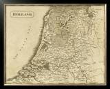Holland, c.1812 Framed Giclee Print by Aaron Arrowsmith