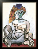 Frau mit Turban, 1955 Prints by Pablo Picasso