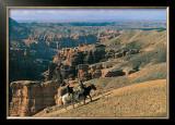 Canyon du Tcharyn, Kazakhstan Posters by Gilles Santantonio