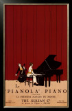 Le Pianola Print by Susan W. Berman