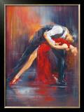 Tango Nuevo II Poster by Pedro Alverez