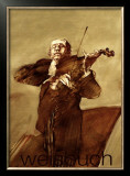 Le Violoniste Prints by Claude Weisbuch
